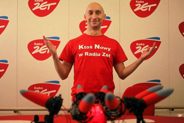 02 .02. 2012 WARSZAWA , KAMIL NOSEL - DZIENNIKARZ RADIOWY Z RADIA ZET . FOT. ALBERT ZAWADA / AGENCJA GAZETA SLOWA KLUCZOWE: RADIO ZET