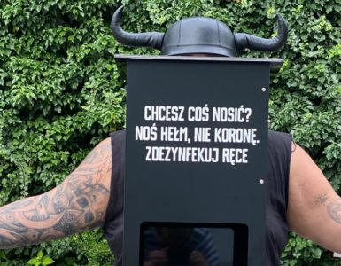 Dezynfekcja rąk z Mobile Vikings