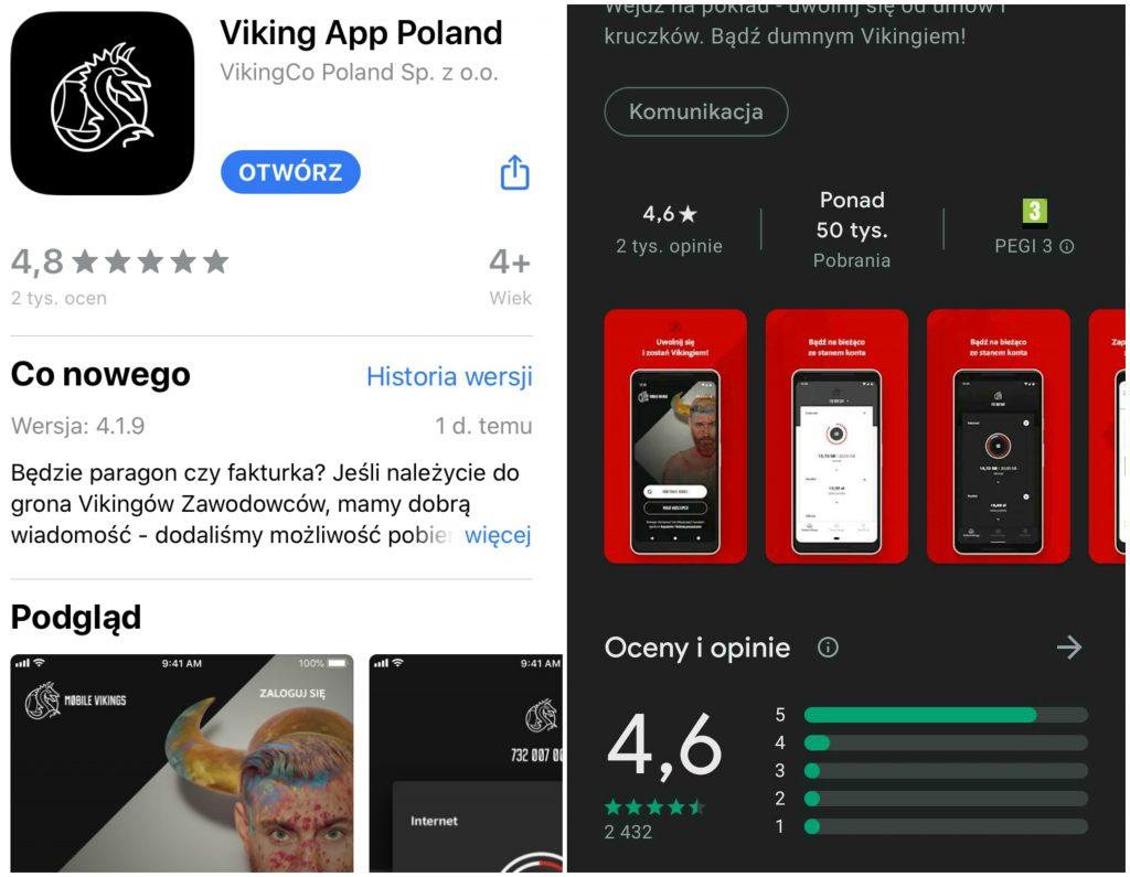 Liczby oViking App niekłamią!